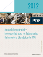Manual de Seguridad y Bioseguridad Para Los Laboratorios de Biomédica