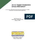Aluminum vs. Copper Conductors a Serious Alternative
