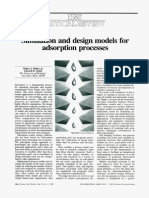 Simulation and Design Models for Adsorption Process