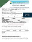 registration form sanctioned