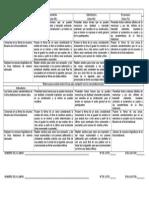 Rúbrica Para Evaluar Textos Líricos Para Compartir Con La Comunidad Escolar 4to Bloque 3er Grado