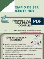 PPT 3. La Práctica Docente. Rescate e Innovación.