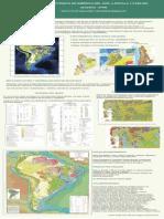 Mapa Geotectónico América del Sur
