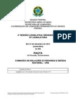 Comissão Permanente Senado Federal 2014