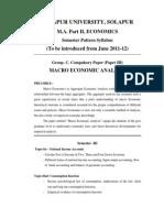 M.a.ii. Economics
