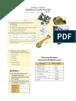 Minerals Rocks Activities