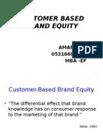 Customer Based Branfd Equity