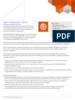 Visibility Fabric Management with Software Defined Visibility - GigaVUE FM Product Brief