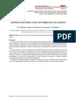 Optimizacion Estructural de Torres de Alta Tension