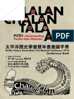 Lalan, Chalan, Tala, Ara (Path)‐‐Reconnecting Pacific‐Asia Histories