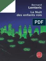 Bernard Lenteric - La Nuit Des Enfants Rois