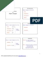 Class6_Properties of Regular Languages