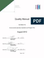 Lab Quality Manual QAMREV10_2012