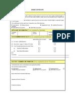 Vision Certificate Format