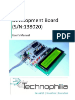 User Manual_SN-138020_Atmega-8 Mother Board