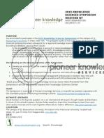 Knowledge Sciences Symposium NY Flyer