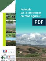 Protocole Sur La Construction en Zones Agricole