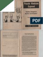 Pseudo Hindusm Exposed - SY
