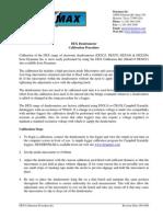 Dex Calibration Procedure