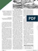 o Que é Pobreza, Mundo Jovem, Out. 2011