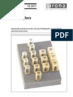Feldspadic Ceramic Blocks