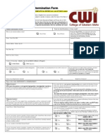 Residency Redetermination Form