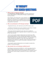 What is Basic IV Therapy Training? The