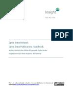 Open Data Publication Handbook