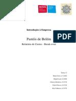 Relatório de custos - empresa portuguesa