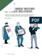 Tom Watson 2012 Very Brief History of PR CommDir