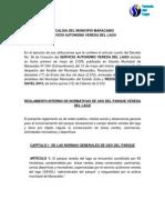 Reglamento Vereda Del Lago