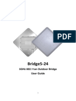 Bridge5-24 User Manual