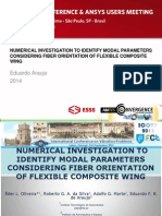Brazil 2014ugm Identify Modal Parameters for Flexible Composite Wing