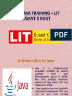 java training in Bhubaneswar – litindia.in