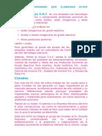 Empresas Peruanas Que Elaboran Ácido Nítrico