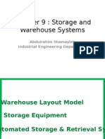 C H a P T E R 9 Storage and Warehouse Systems