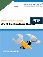 User Manual for ATMEGA Evaluation Kit