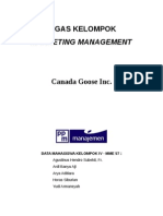 Tugas Kelompok - Canada Goose