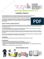 osiyeza cleaners - company profile