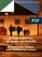 Brosura Piete Cluj