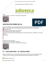 Ché Inspiración Rebelde (Radioteca.net)