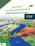 De Architectuur Van Het Leerlandschap. Professionalisering in de school