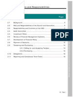 2012 WA Accounting Manual - Section 2 - Roles & Responsibilities
