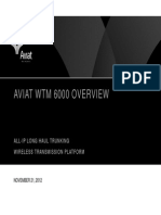 Aviat WTM 6000 All IP Long Haul Trunking Platform