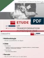 Etude transformation numérique des entreprises - focus industrie