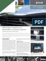 PathFindIR in Porsche Cayenne
