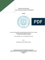 Paper Konstitusionalisme (Rule of Law Sebagai Bassis Government)