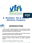 VFN Tax and Tax Saving Session 2015