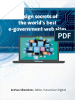Design Secrets of the Worlds Best e Government Websites