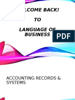 Accounting Record